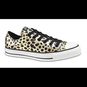 Limited Edition Blondie Cheetah Metallic Converse